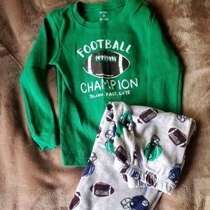 3T Toddler Fleece Pajamas